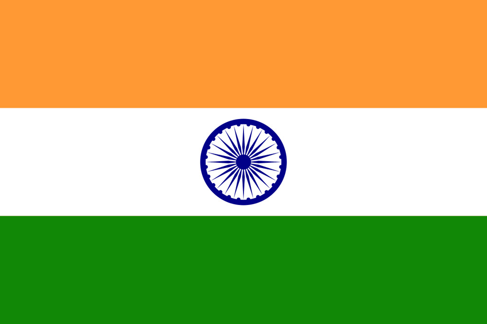 India Country Flag: INDIA INDIAN NATIONAL LARGE 5 X 3FT CRICKET FANS