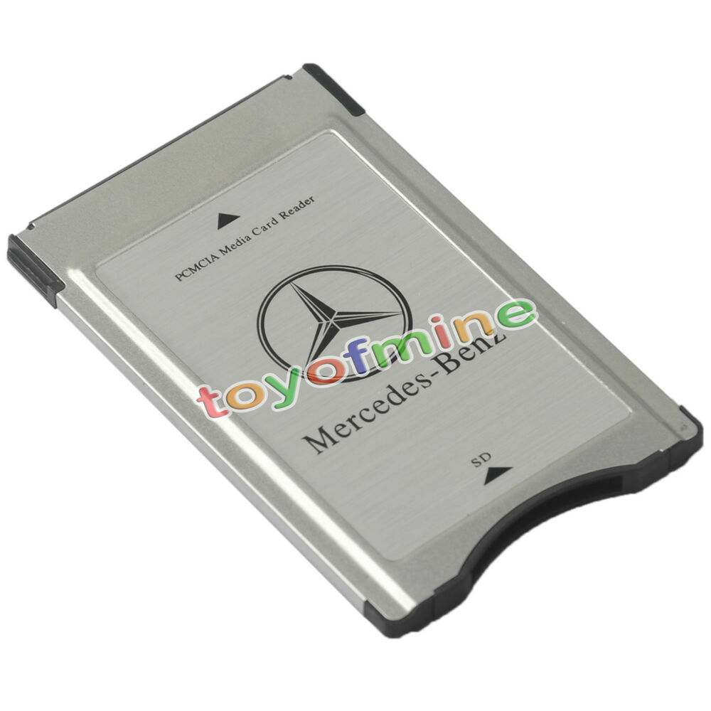 Pcmcia to sd adapter for mercedes benz audio system for Pcmcia card for mercedes benz