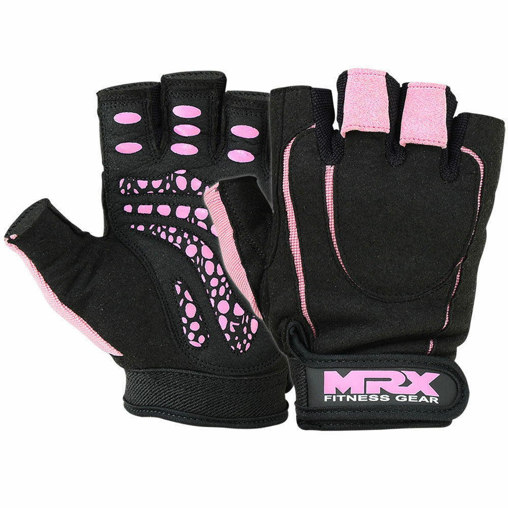 Workout Gloves Womens Nike: Women Weight Lifting Gloves Gym Training Fitness Leather