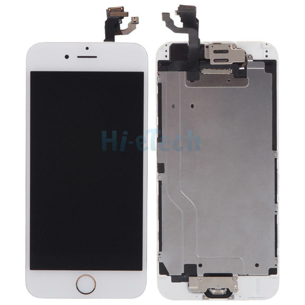 digitizer lcd touch screen replacement home button a for iphone 6 4 7 ebay. Black Bedroom Furniture Sets. Home Design Ideas