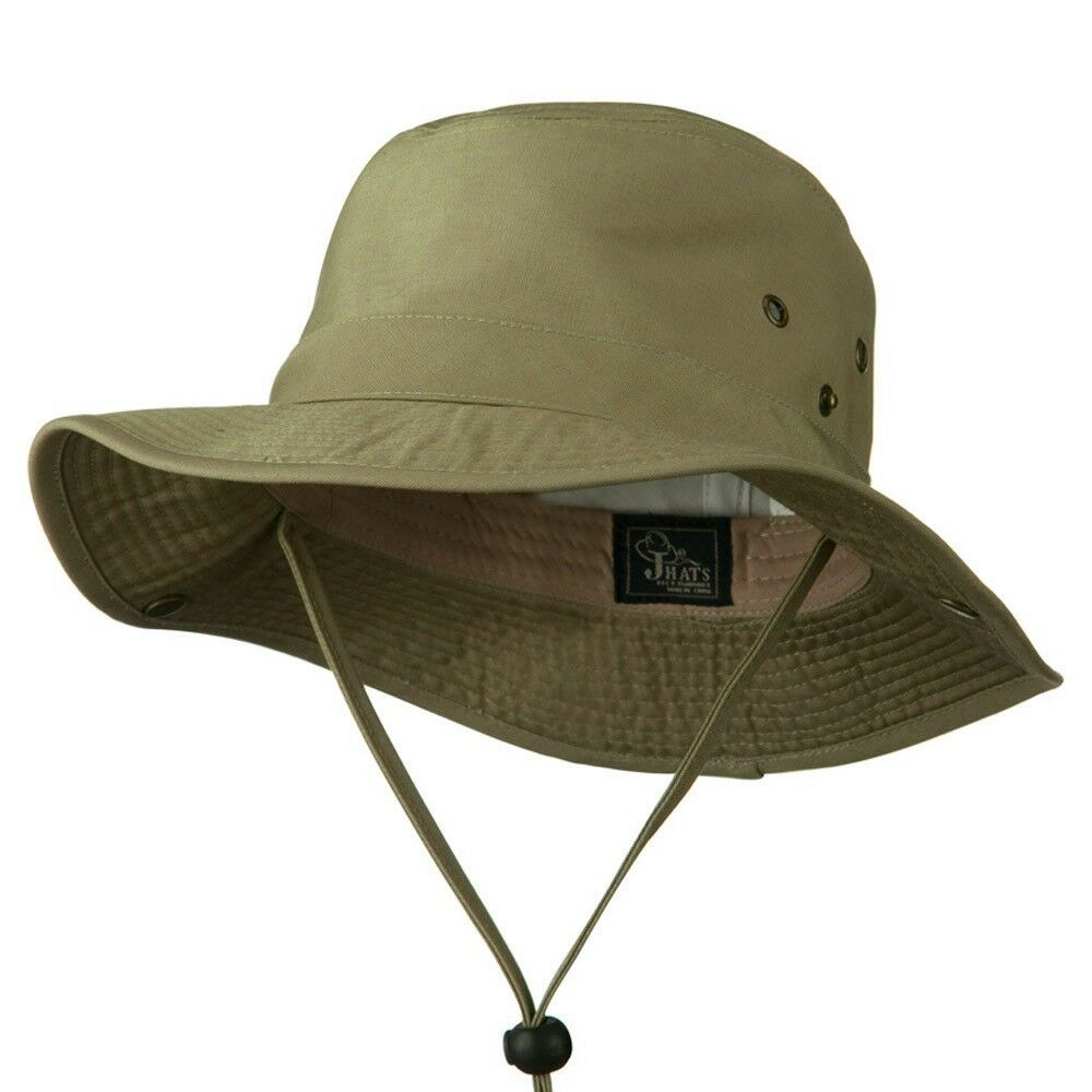 Boonie bucket hat cap 100 cotton men military hunting for Fishing bucket hat