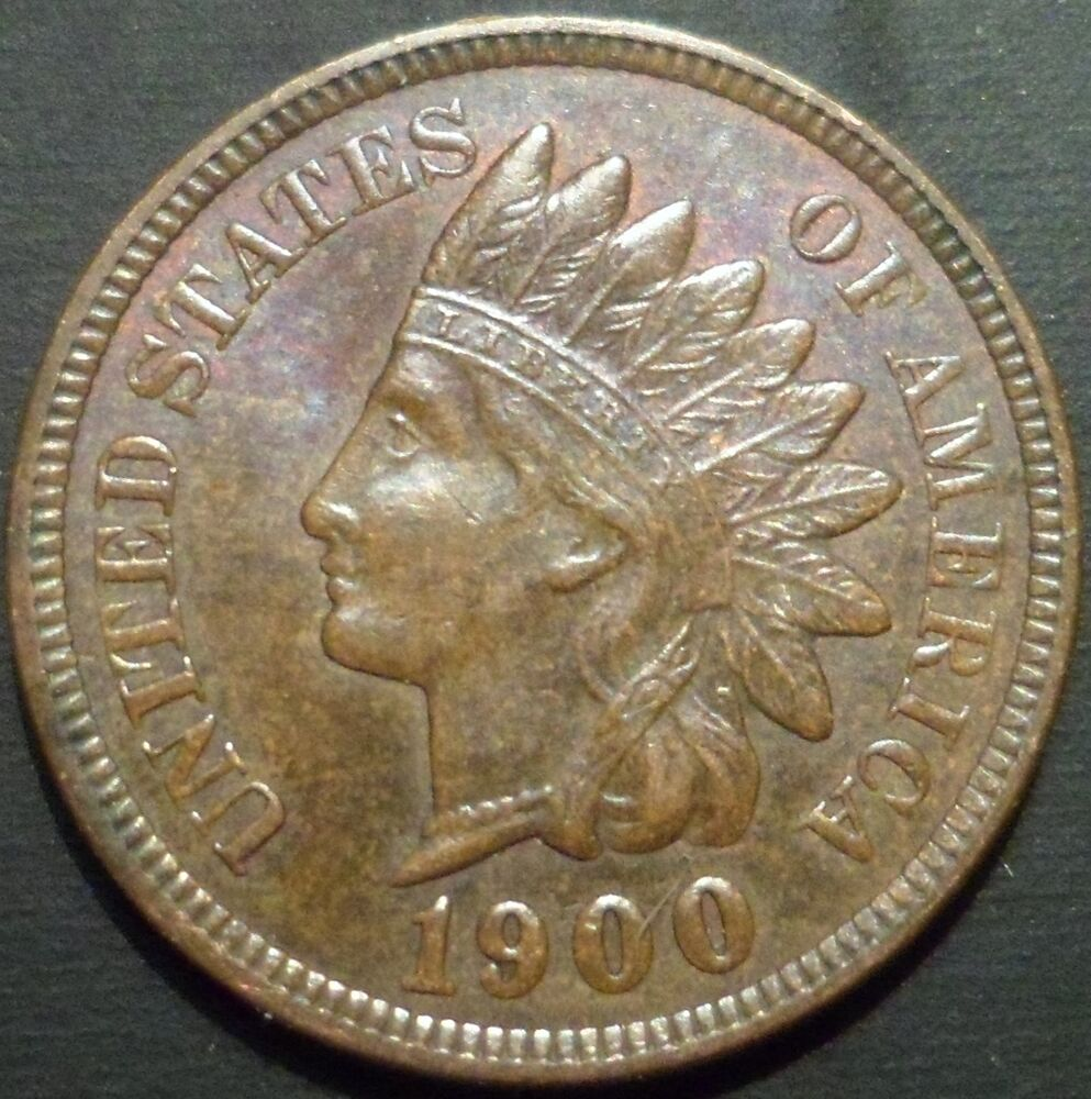 BU BN 1900 Indian Head Cent UNC PQ ** ADDITIONAL SINGLE ...