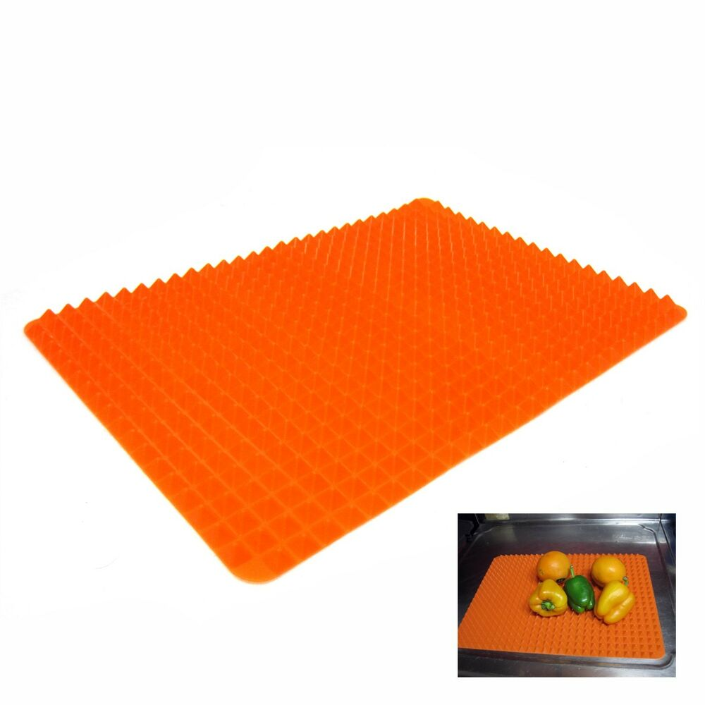 Orange Silicone Roll Sink Drainboard Dish Tray Silicone