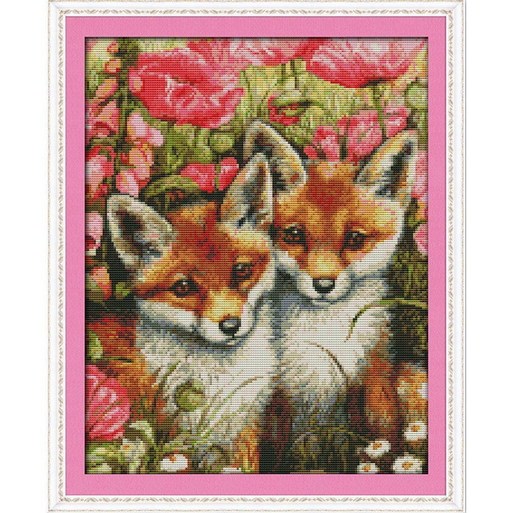 Dimensions counted cross stitch kit embroidery
