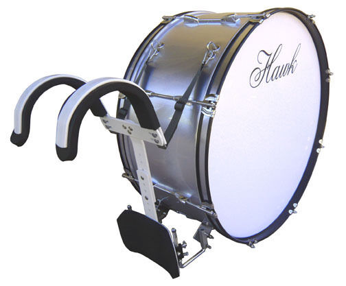 high school band marching bass drum 28 with harness new clearance sale on now ebay. Black Bedroom Furniture Sets. Home Design Ideas