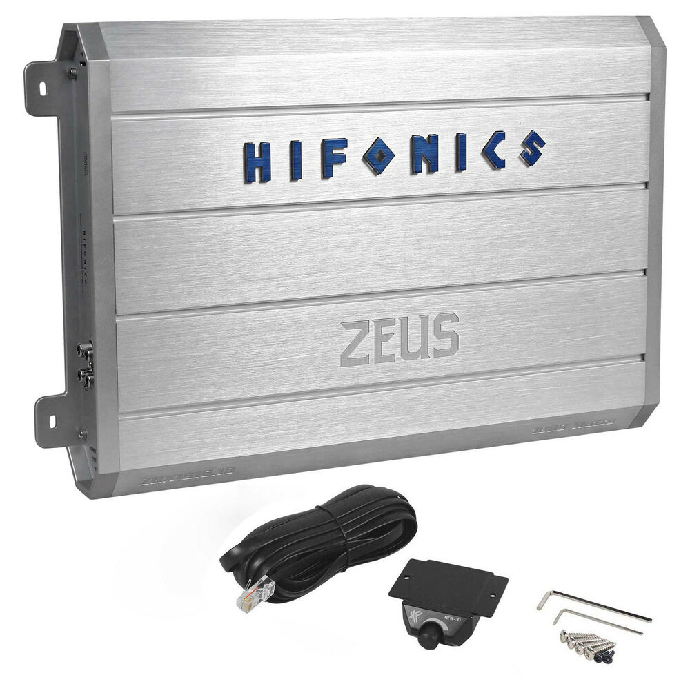 hifonics zeus zrx1816 1d 1800w rms mono block class d car. Black Bedroom Furniture Sets. Home Design Ideas