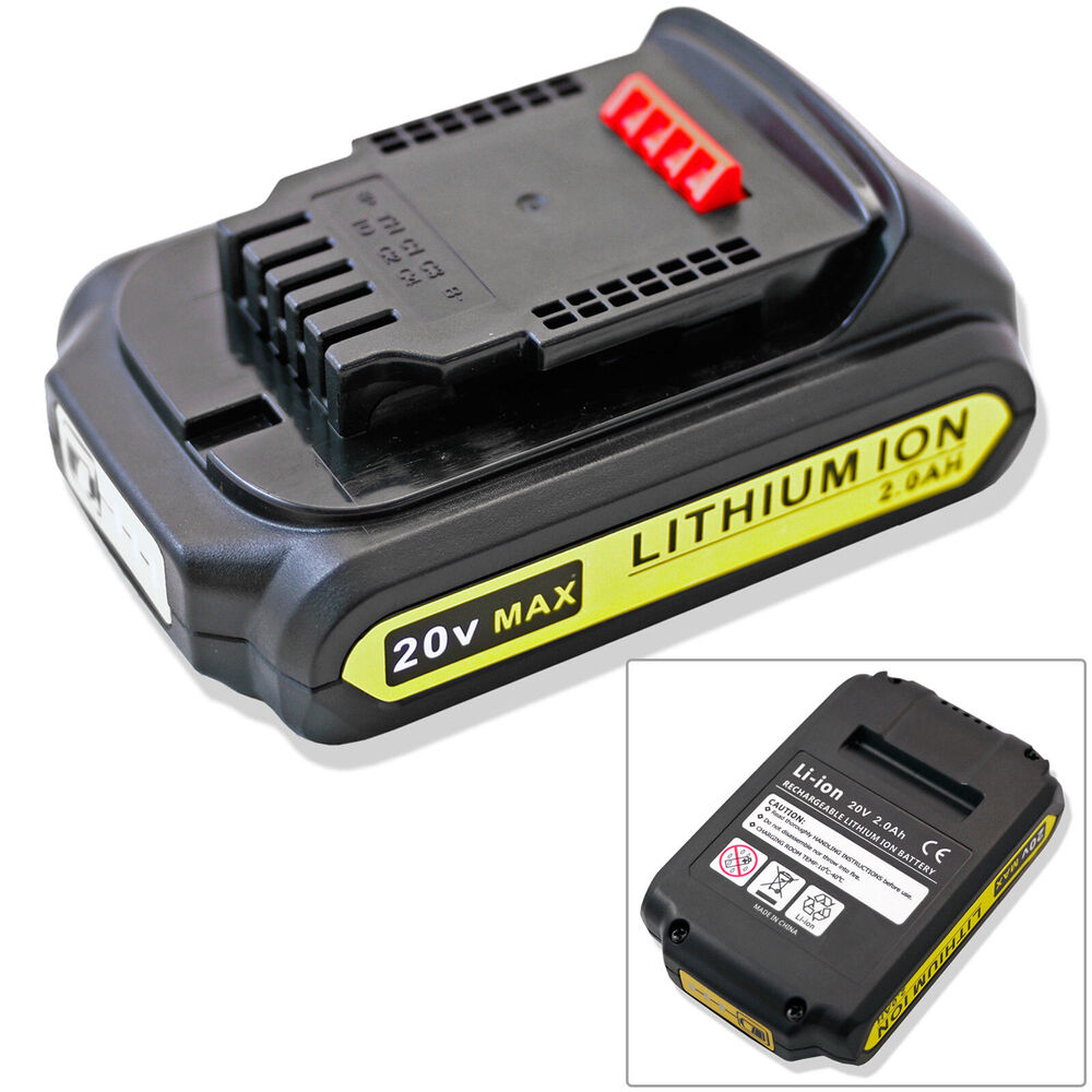 Lithium Ion Battery Pack New 20V 20 Volt...
