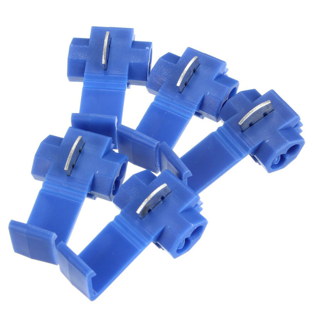 Cable Wire Connectors : Blue scotch lock wire electrical cable connector quick