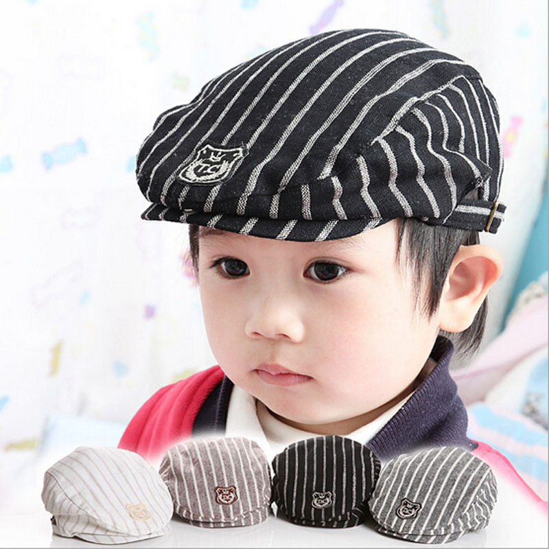 Lovey Stripe Casual Baby Boy&Girl's Hat Cap Kid Hats ...