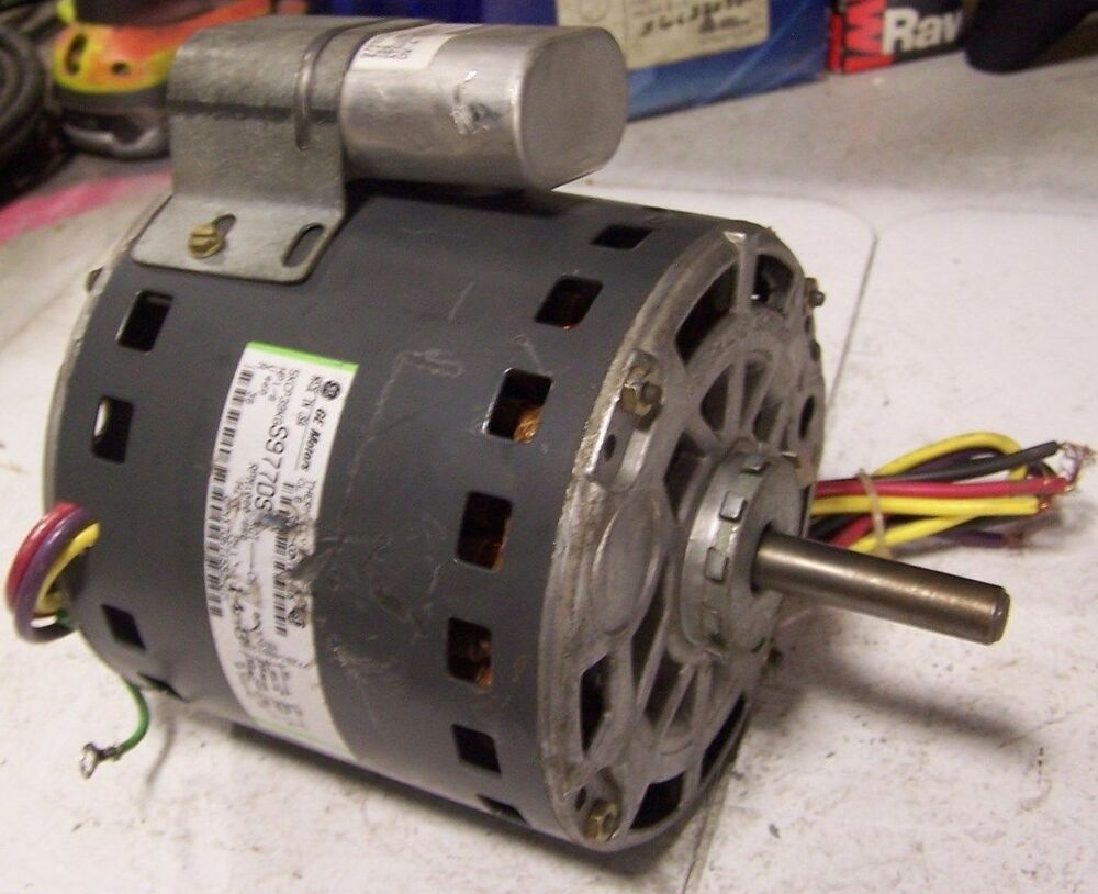 Ge 1 8 hp electric ac motor 460 vac 1 phase 1080 850 rpm 1 for 1 2 hp ac motor