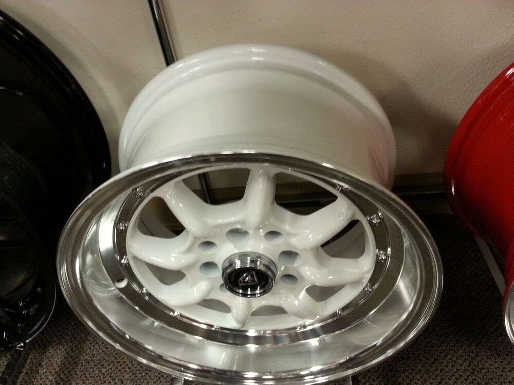 Four Wheeler With Rims: 15 X 8 8006 White Wheels Rims 4 Lug Passanger Vehicles