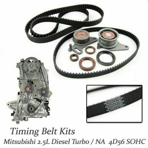 Oem Timing Belt Kits Mitsubishi Montero Pajero Delica L300 25 4d56 The And Front Oil Seal On A Diesel Td Na Ebay