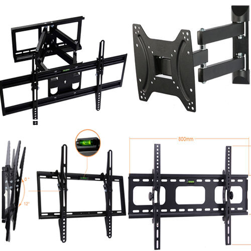 Lcd Led Plasma Flat Swivel Tilt Tv Wall Mount 27 32 37 40