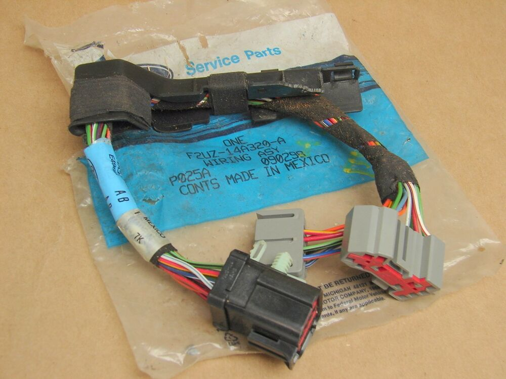 new oem 1992 1993 ford econoline dimmer switch wiring assembly new oem 1992 1993 ford econoline dimmer switch wiring assembly f2uz 14a320 a