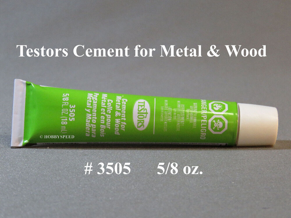 Testors Cement For Wood And Metal 5 8 Ounce Bonds Quickly