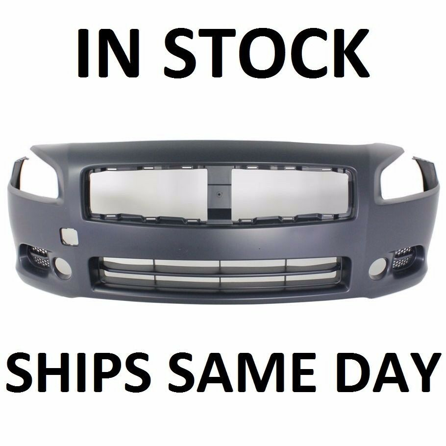 2009 Nissan Maxima Exterior: Front Bumper Cover Fascia Replacement For