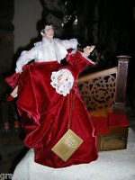 Gone With the Wind ~SCARLETT & RHETT~ STAIRCASE DOLLS ~ By: THE FRANKLIN MINT
