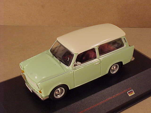 ist 1 43 diecast 39 65 trabant 601 kombi station wagon. Black Bedroom Furniture Sets. Home Design Ideas