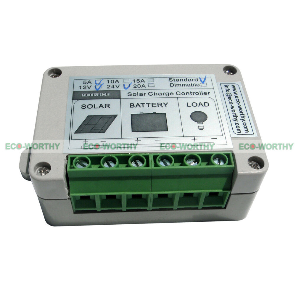 5a Solar Charge Controller Solar Power Controller With