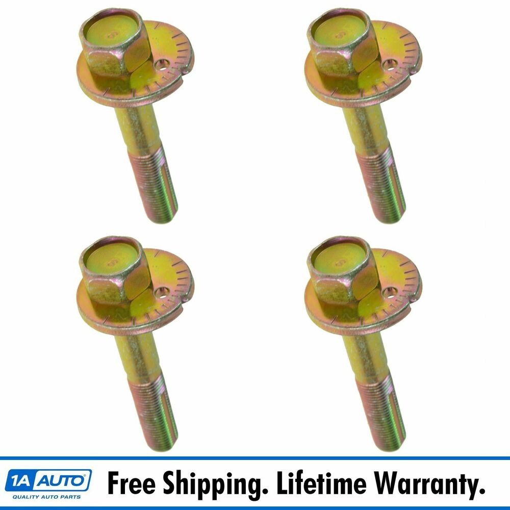 Oem Control Arm Bolt Pin Front Upper Set Of 4 For Nissan