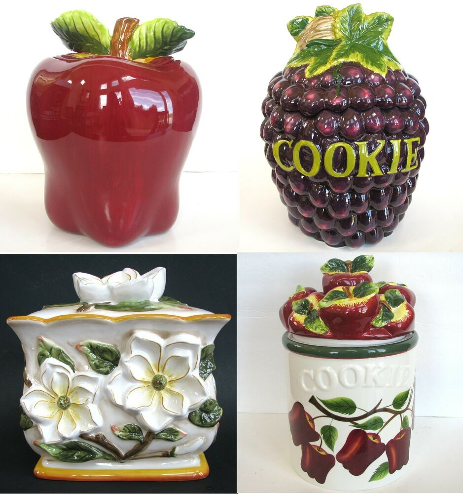 Hand Painted Spice Jars
