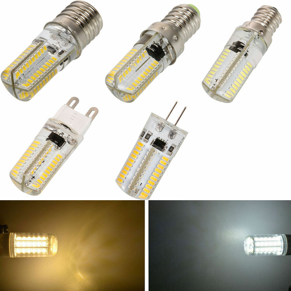 new e12 e14 e17 g9 3014 smd 80 led dimmable corn bulb lamp warm cool white light ebay. Black Bedroom Furniture Sets. Home Design Ideas