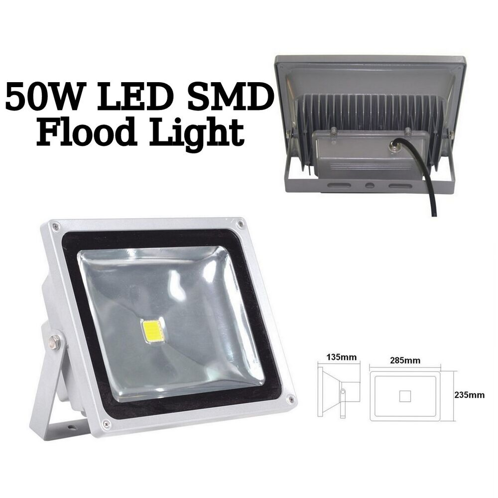 50w Led Spotlight Flood Light Ip65 Outdoor Cool Warm