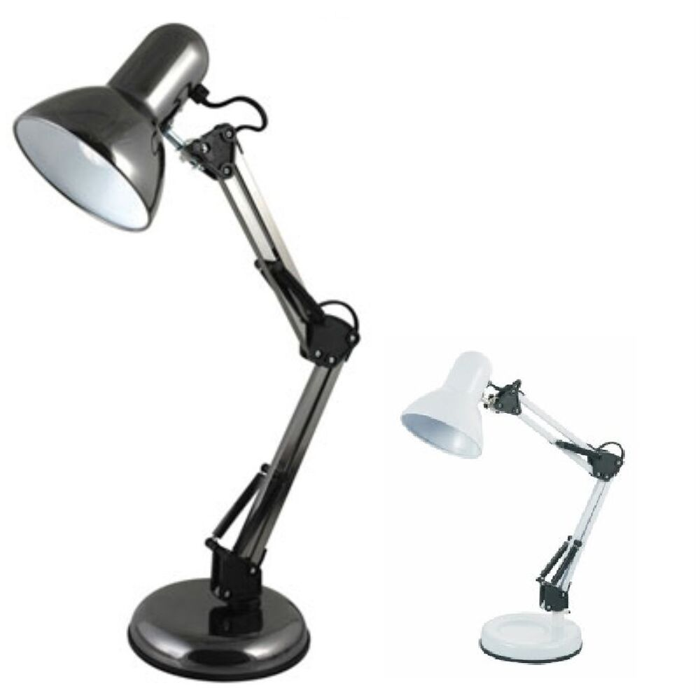 hobby desk table reading light lamp swivel arm home office