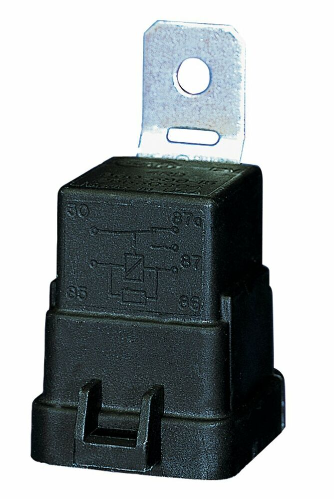 Hella Weatherproof Heavy Duty Spdt Relay 007794301 12v