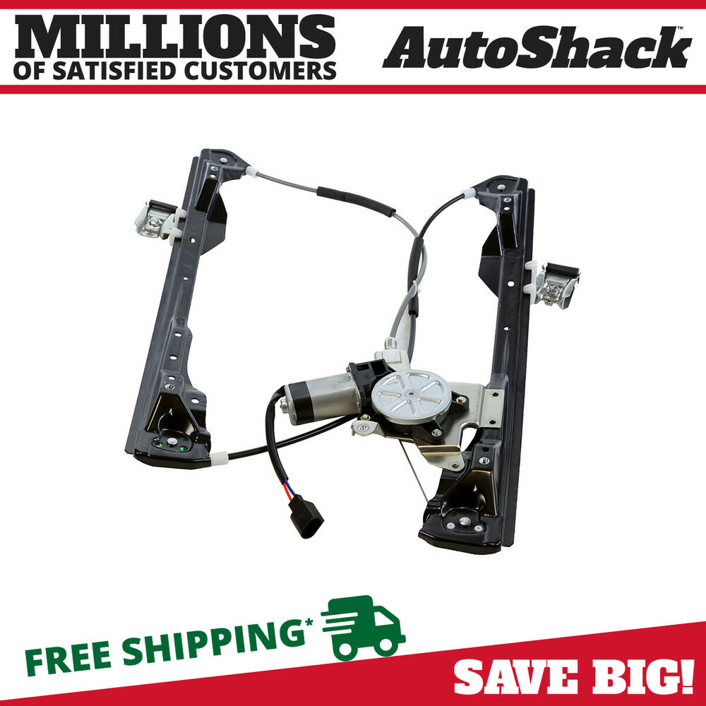 New front left driver side power window regulator w motor Window motor and regulator cost