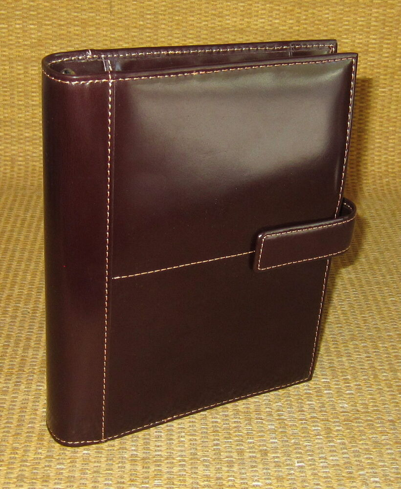 *NEW* Brown Glass LEATHER FRANKLIN