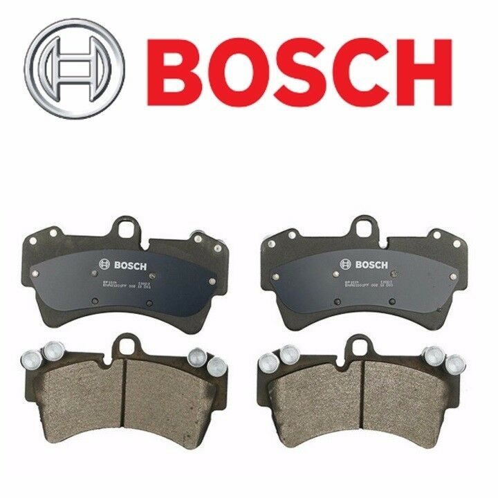 BOSCH QuietCast Front Disc Brake Pad Set For Audi Q7 For
