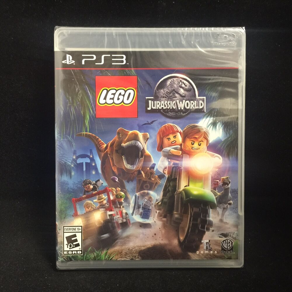 New Lego Games For Ps3 : Lego jurassic world sony playstation brand new