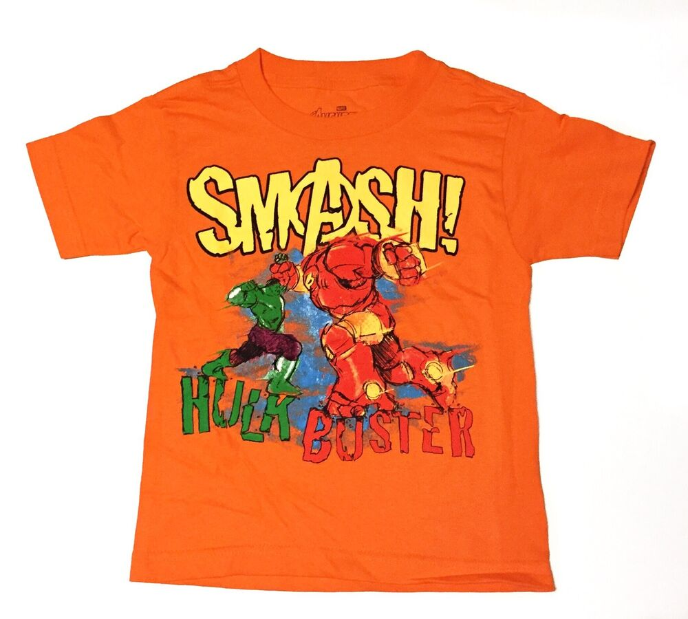 Avengers age of ultron smash kids size 6 t shirt juvy for Graphic t shirts for kids