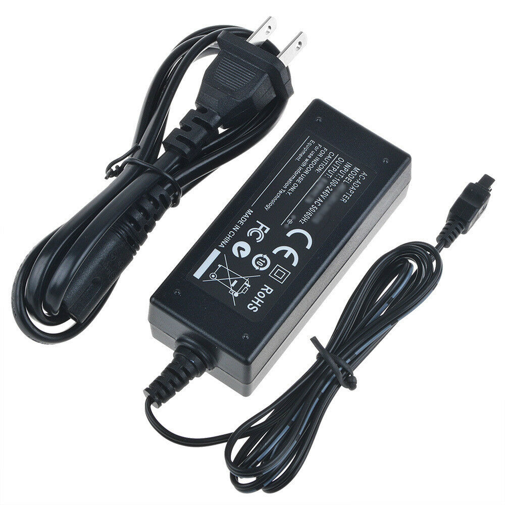 Ac Dc Battery Power Charger Adapter For Sony Handycam Hdr