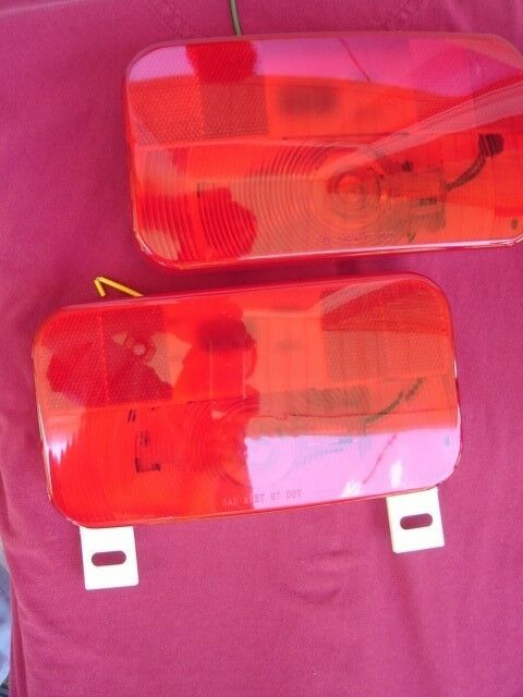 Innovative  Tail Trailer Light  6 12in Red Model B85RK  Stop Turn Tail