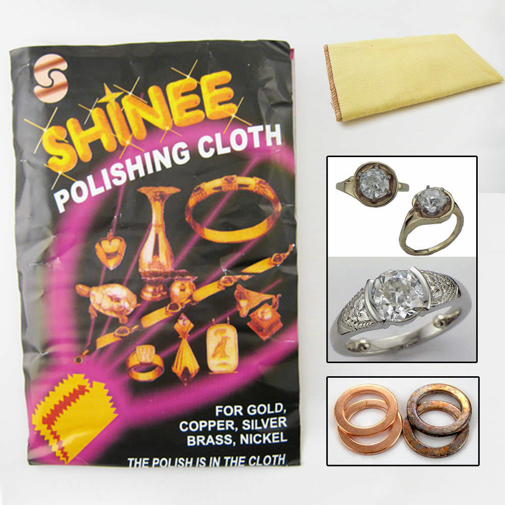 1 Shinee Jewelry Polishing Cloth Clean Silver Gold
