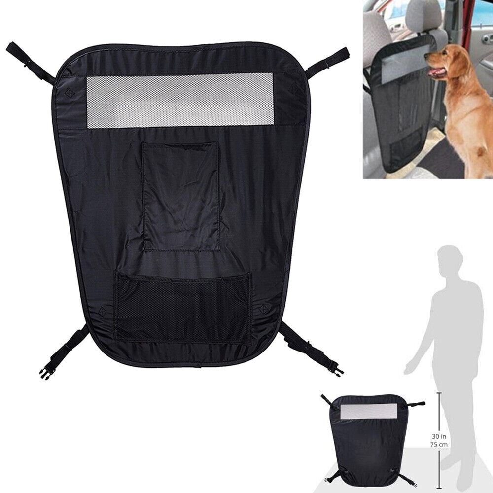 Pet Auto Barrier Blocks Dogs Access To Auto Car Front Seat