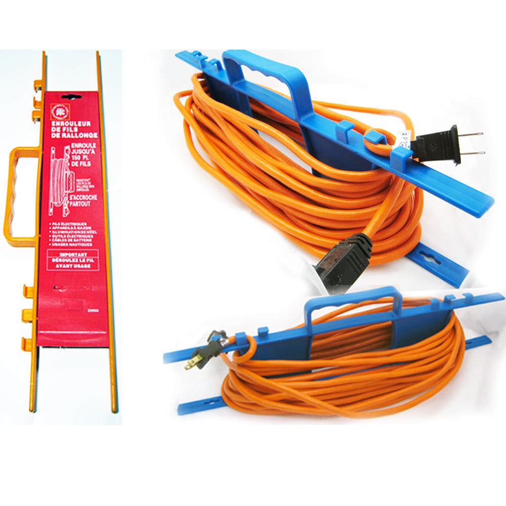 Electrical Cord Hangers: 1 CABLE WIRE ORGANIZER EXTENSION ELECTRIC CORD HOLDER TIE