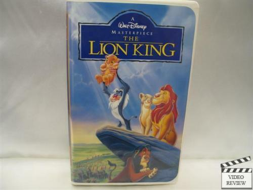 the lion king  vhs  1995  clam shell 765362977031