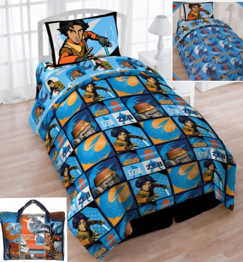 star wars twin bed in a bag