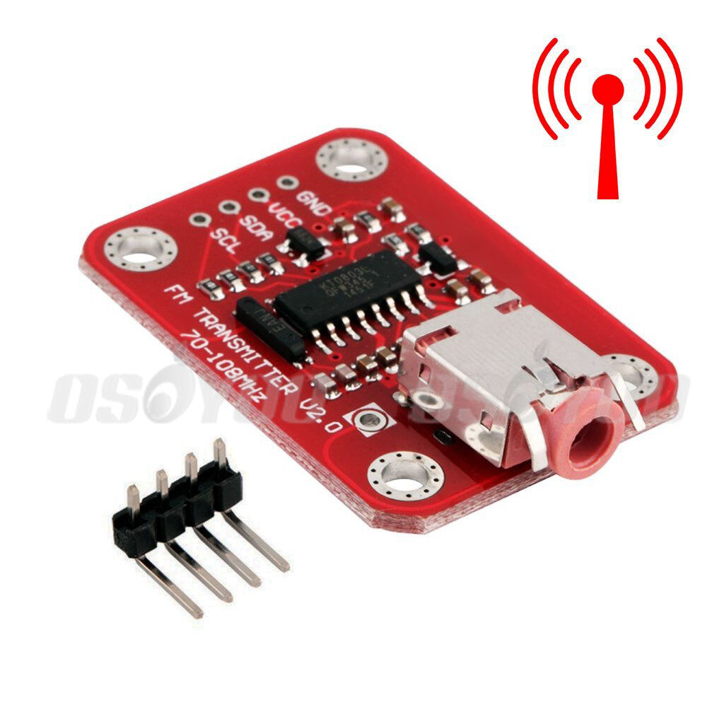 Fm transmitter module v digital radio for