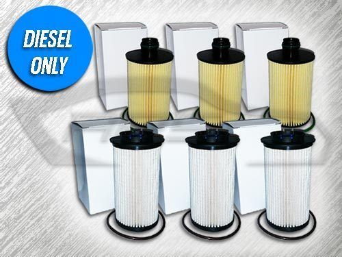 3 Oil  U0026 3 Fuel Filters Kit For 2014 2015 2016 Ram 1500 3