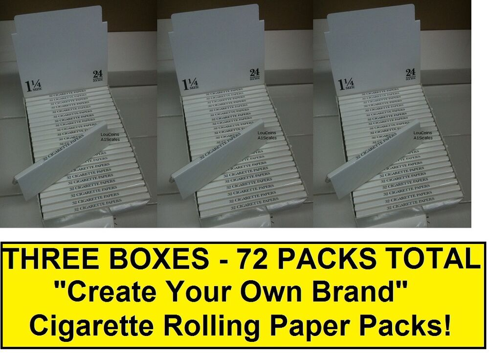 Three Full Boxes 72 Packs Total Blank Quot Create Your Own