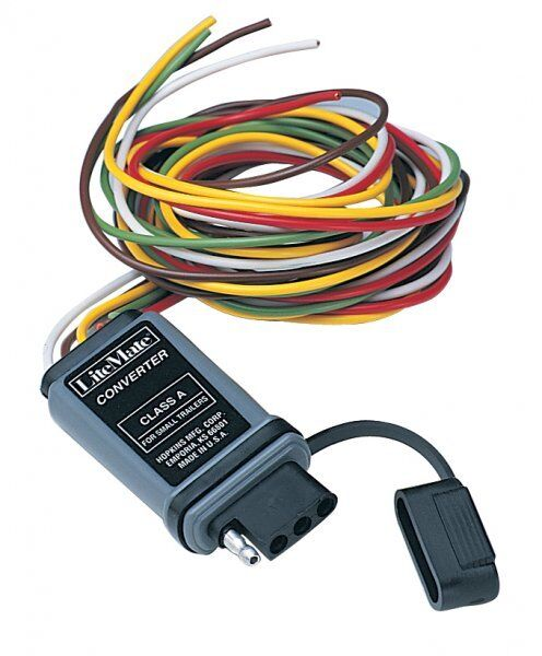 48915  Hopkins Manufacturing Electronic Trailer Wiring Converter