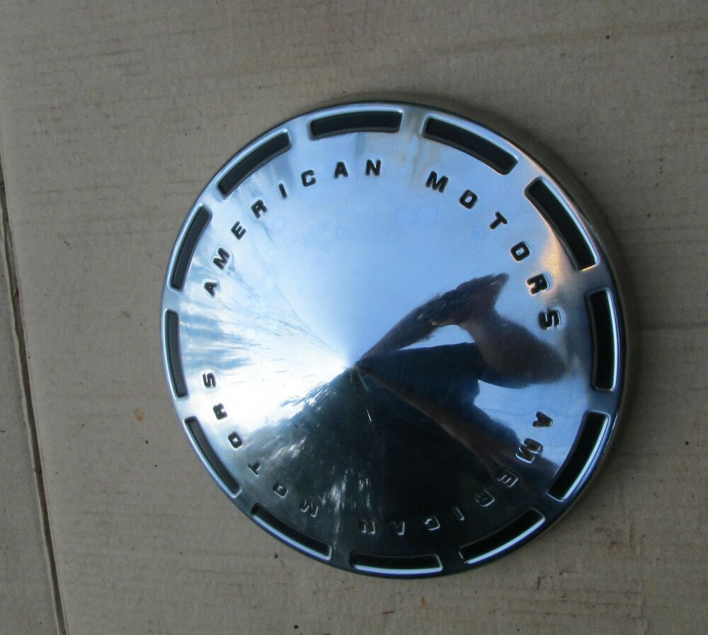 Nos 1970s Amc Dog Dish Wheel Cover Hub Cap Javelin Amx