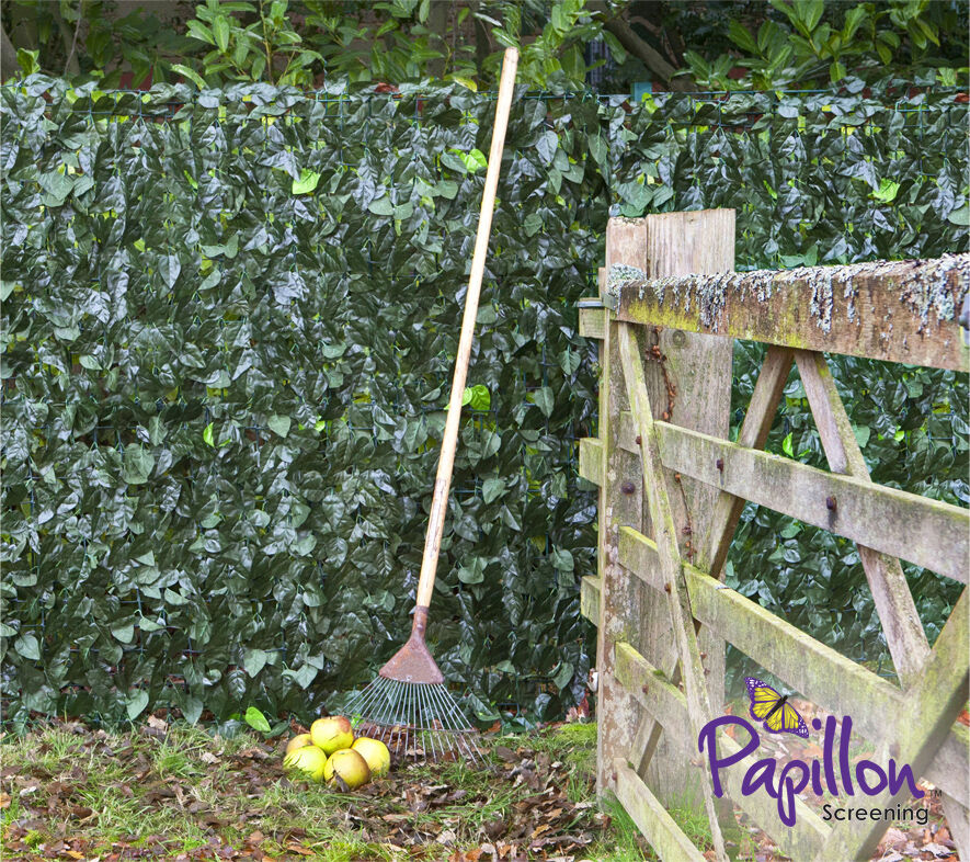 Artificial Ivy Leaf Hedge Screening 1m X 3m Privacy Screen