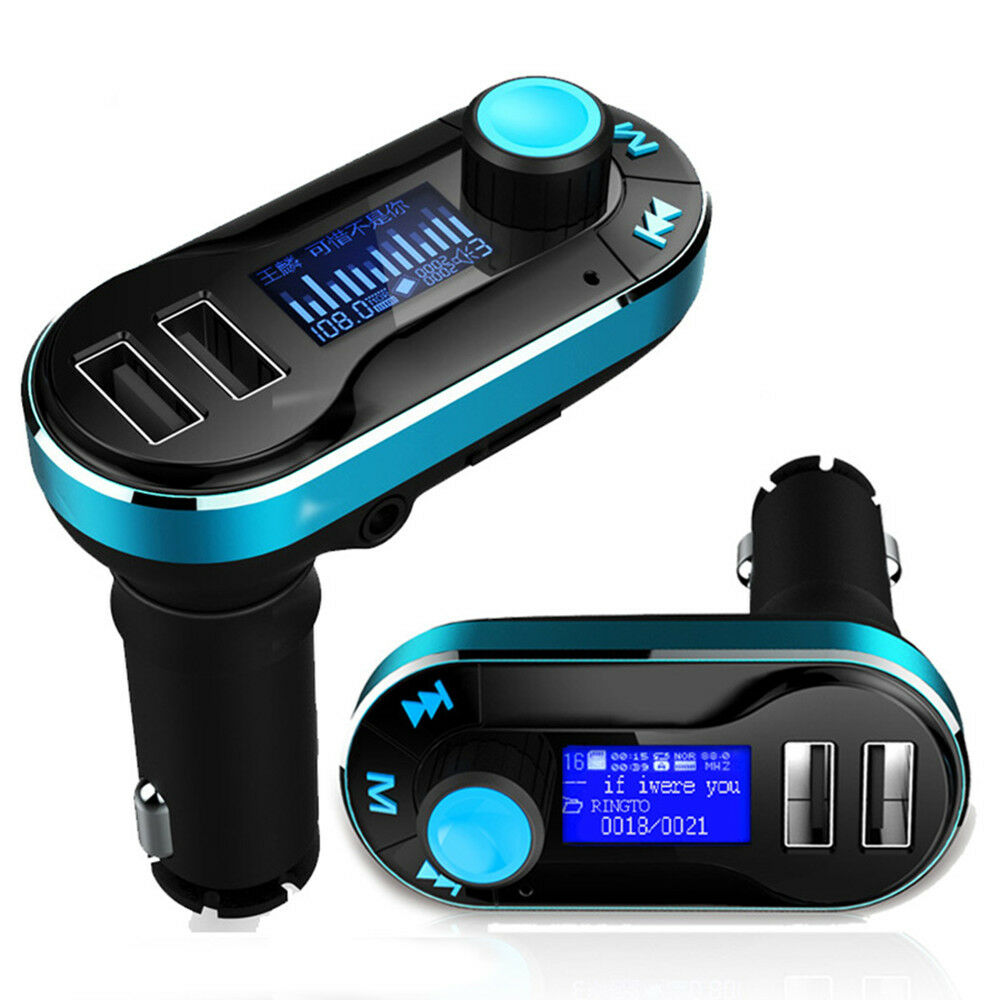 bluetooth car kit mp3 player fm transmitter support sd lcd. Black Bedroom Furniture Sets. Home Design Ideas