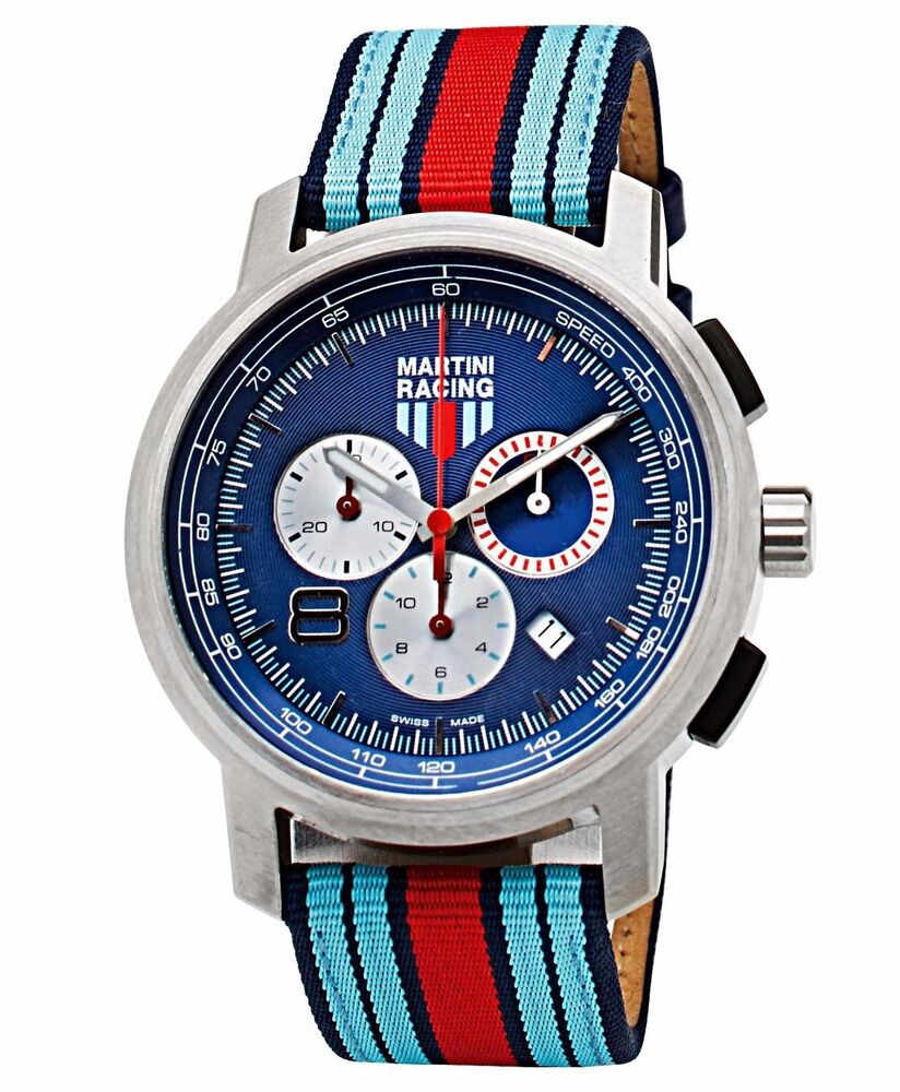 Ebay Motors Fees >> PORSCHE DESIGN New MARTINI RACING Collection Chronograph Watch (2015 model) | eBay