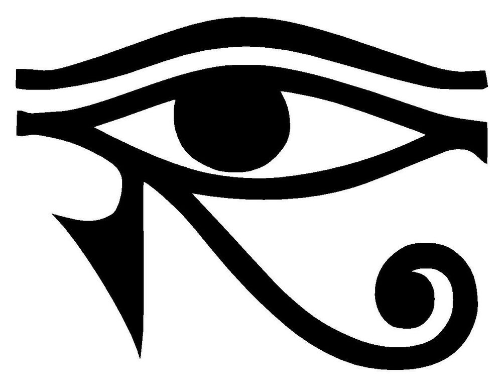 eye of ra horus egyptian god vinyl decal sticker window